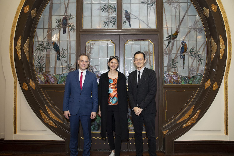 Tim Reeve, Marisa Yiu, Sean Fitzpatrick