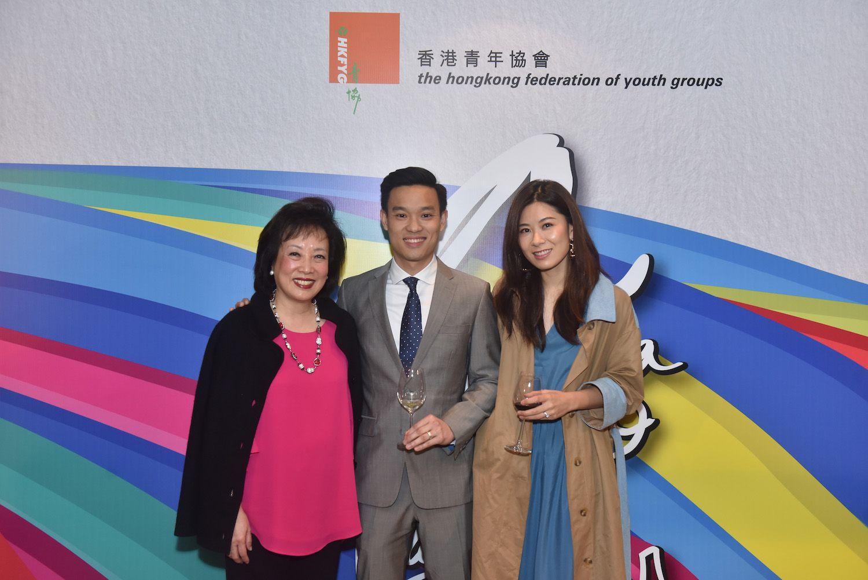 Rosanna Wong, Jonathan Tam, Robynn Tam