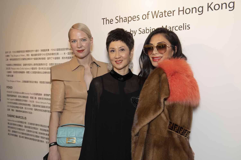 Sabine Marcelis, Michelle Ong, Nicole Scherzinger