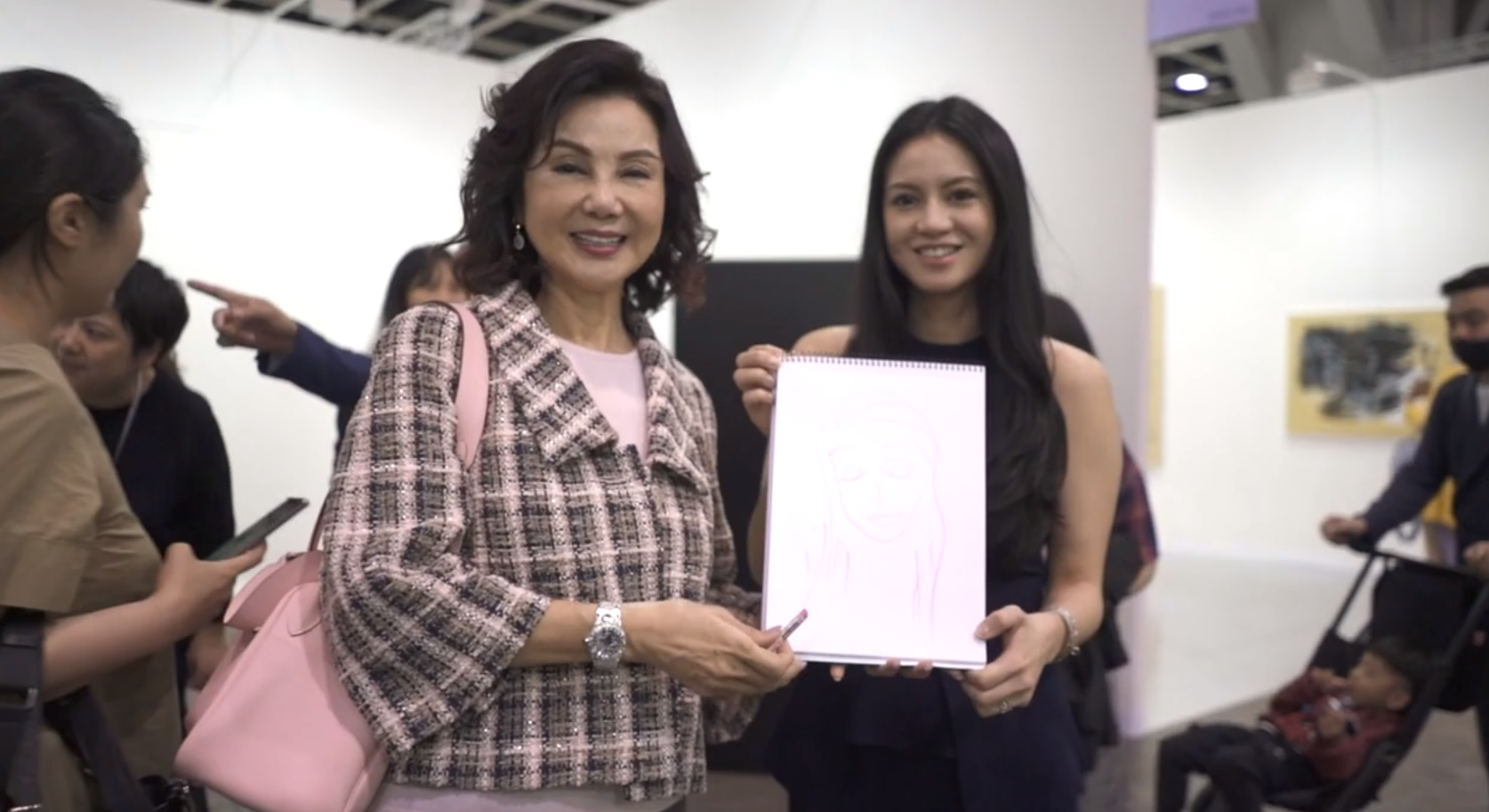 Video: 1-Minute Artists At Art Basel Hong Kong 2019