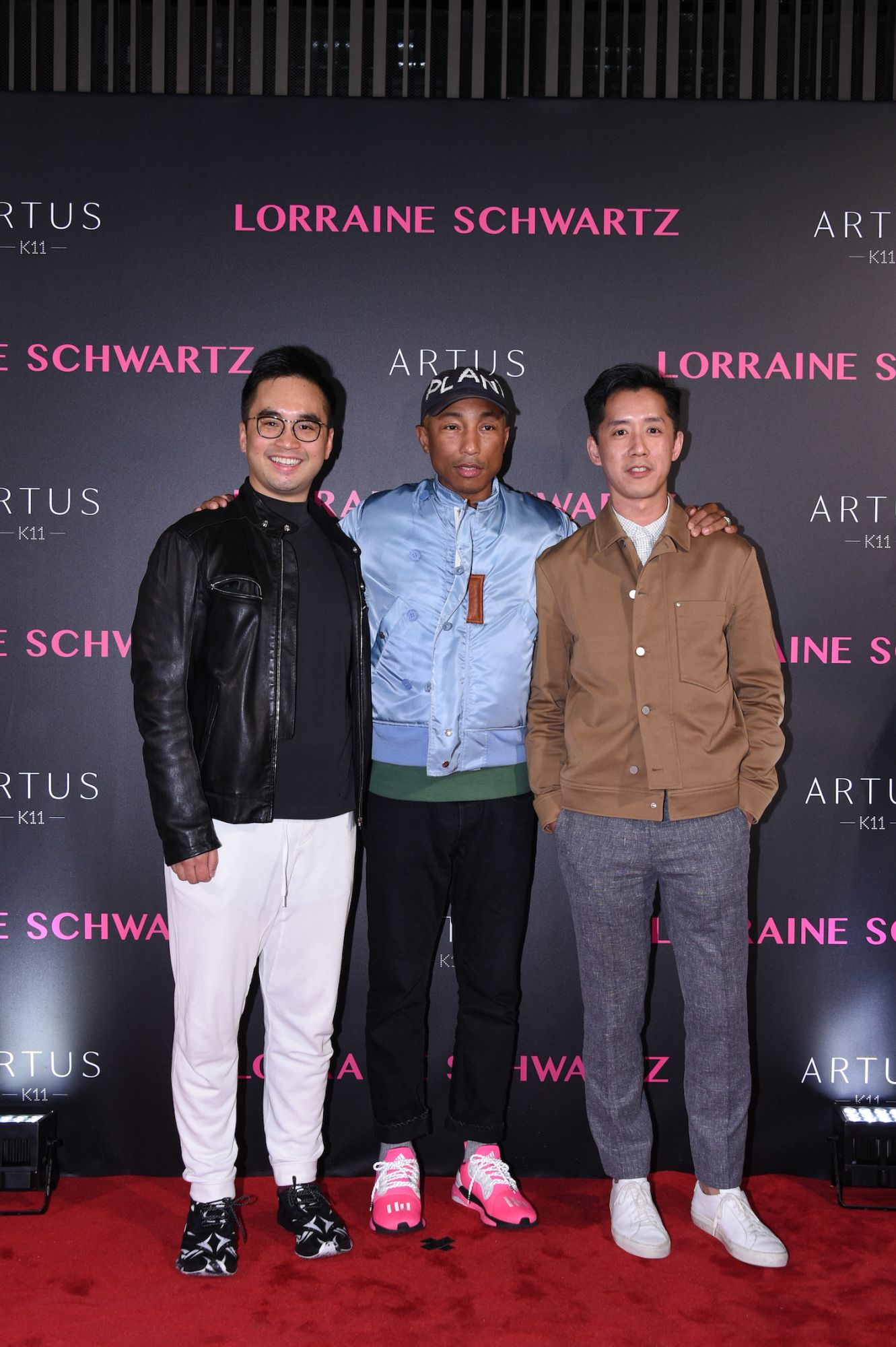 Adrian Cheng, Pharrell Williams, André Fu