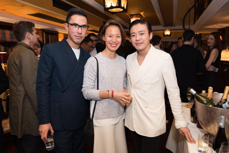 Edward Tang, Claire Hsu-Vuchot, Jonathan Cheung