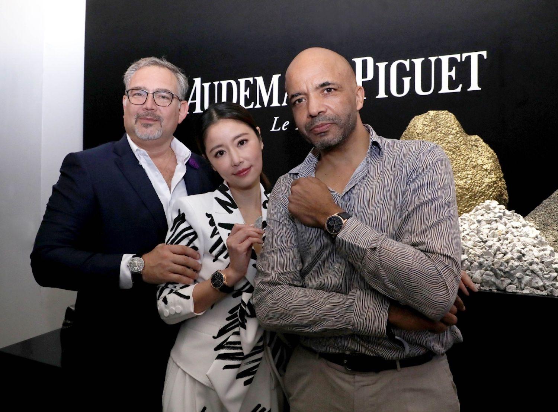 Oliviero Bottinelli, Ruby Lin, Olivier Audemars
