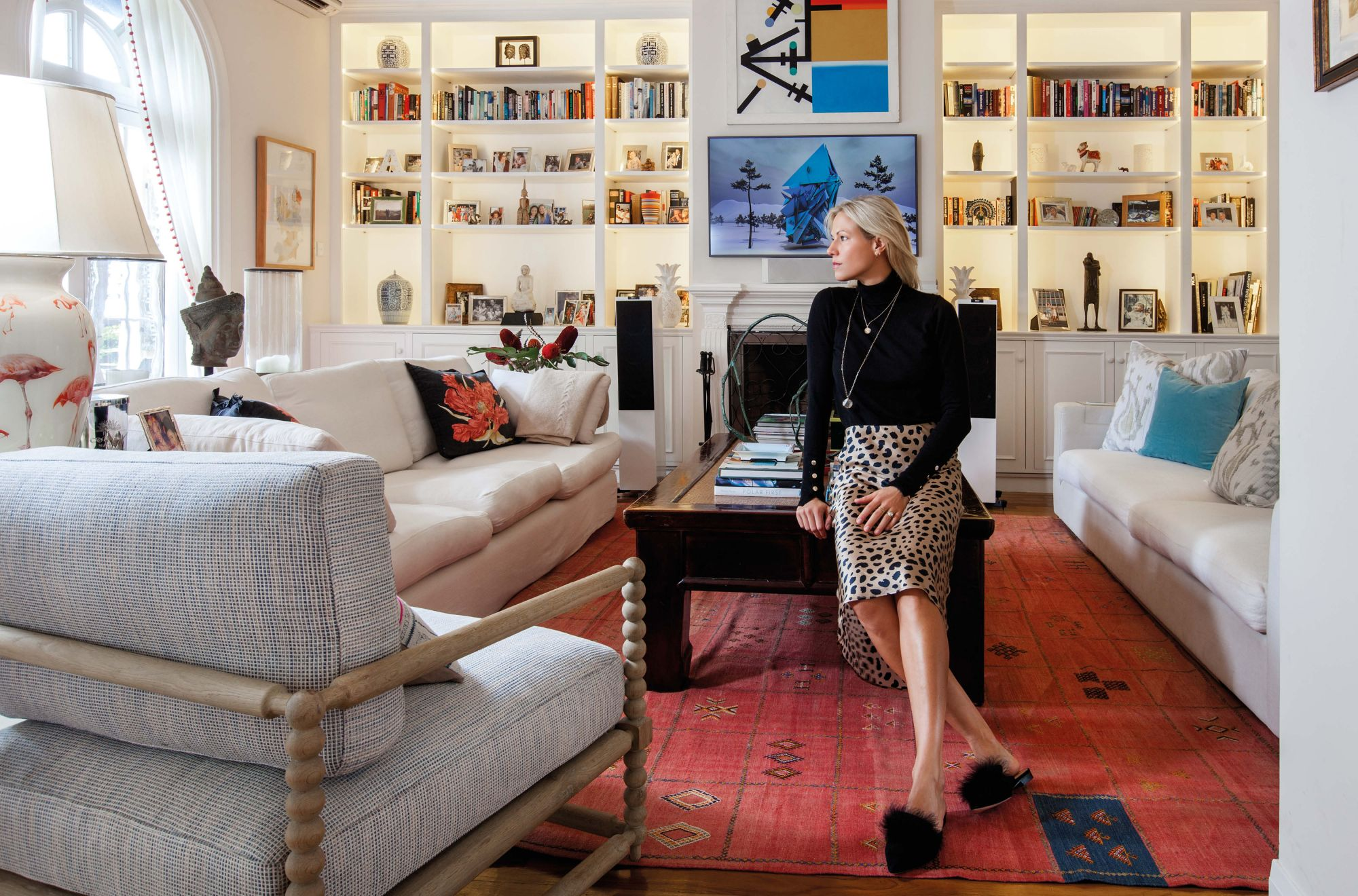 Inside Fashion Designer Alice Keswick's Striking Home On The Peak