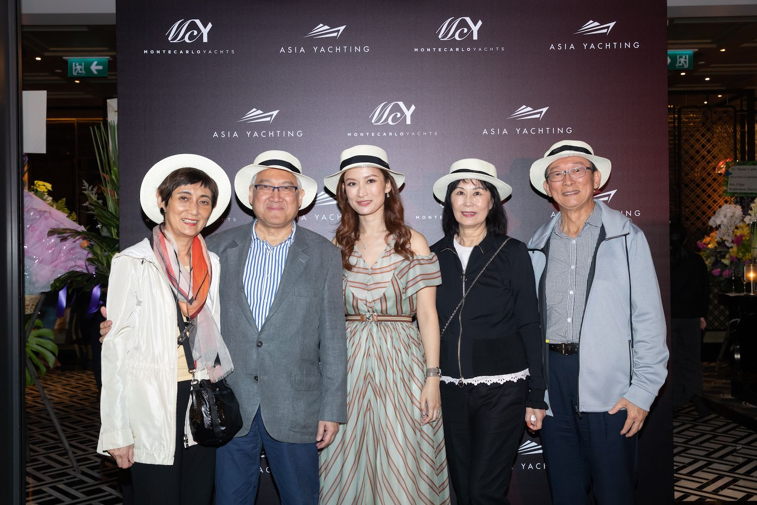 Sylvia Fung, William Fung, Colleen Fung, Alian Yu, Paul Yu
