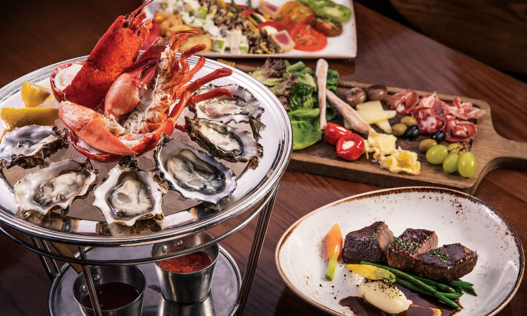 Enjoy Semi-Buffet Lunch In Style At Bostonian Seafood & Grill