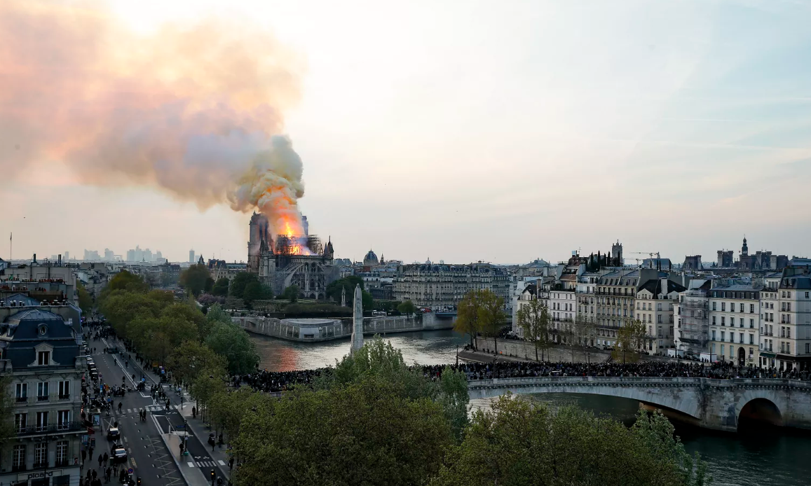 French Billionaires Pledge $700 Million To Save Notre Dame