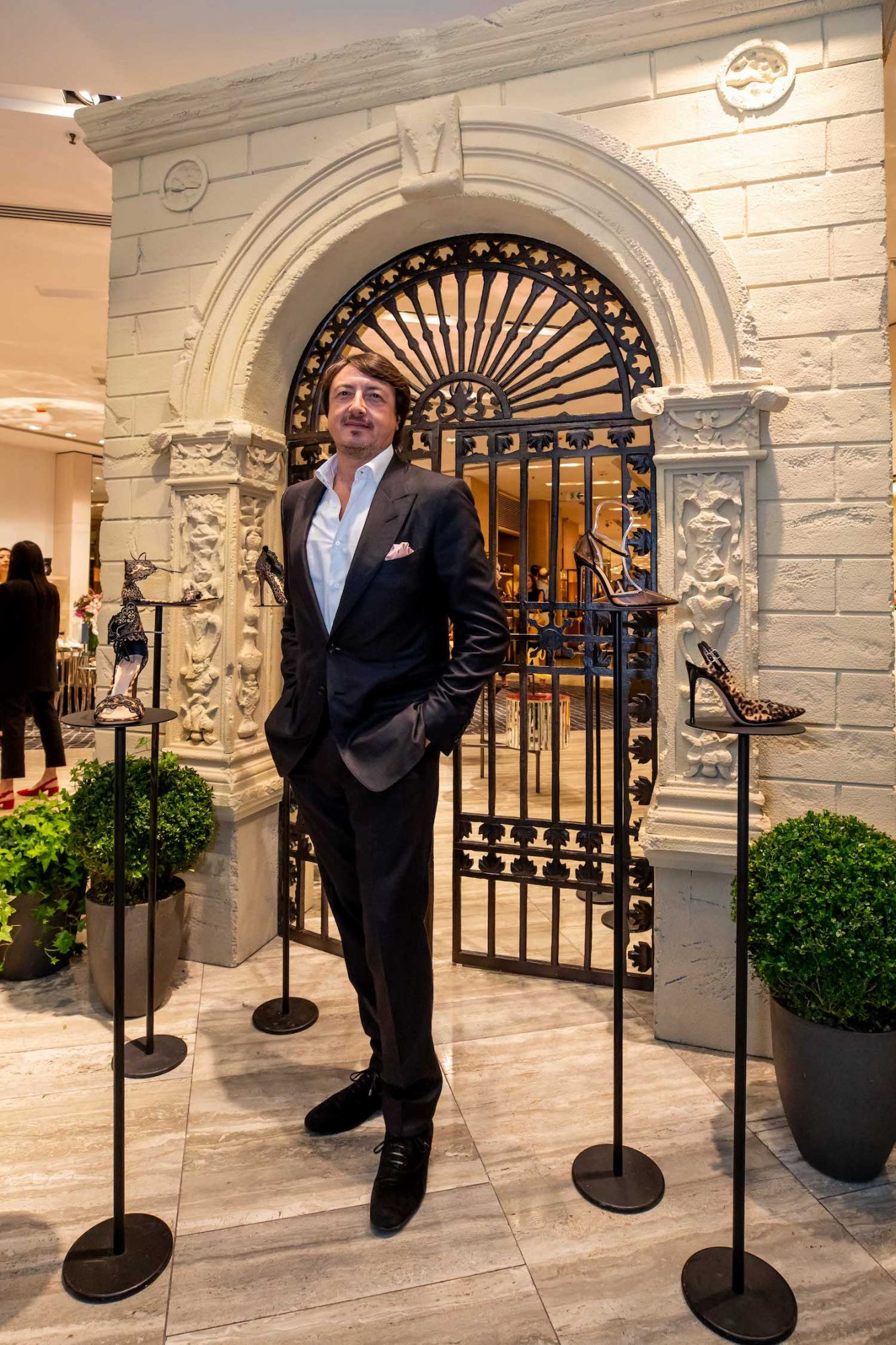 5 Minutes With Shoe Designer Gianvito Rossi