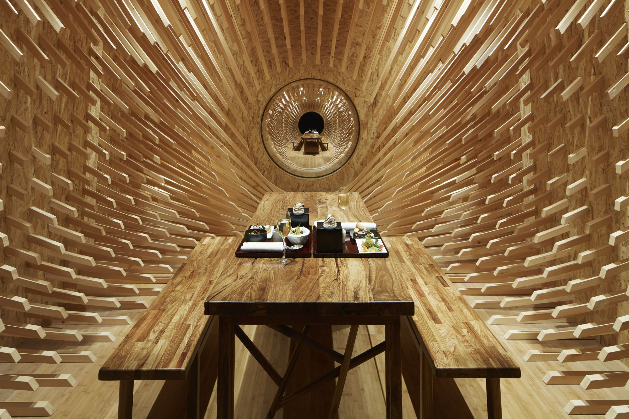 Inside The Wonder Room, An Experimental Teahouse Where Gastronomy And Gong Baths Co-Exist