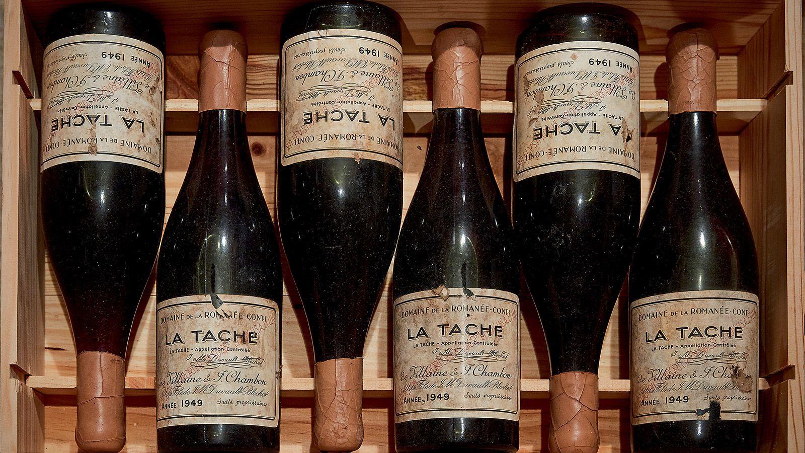 Drouhin Sotheby's auction Romanee-Conti La Tache