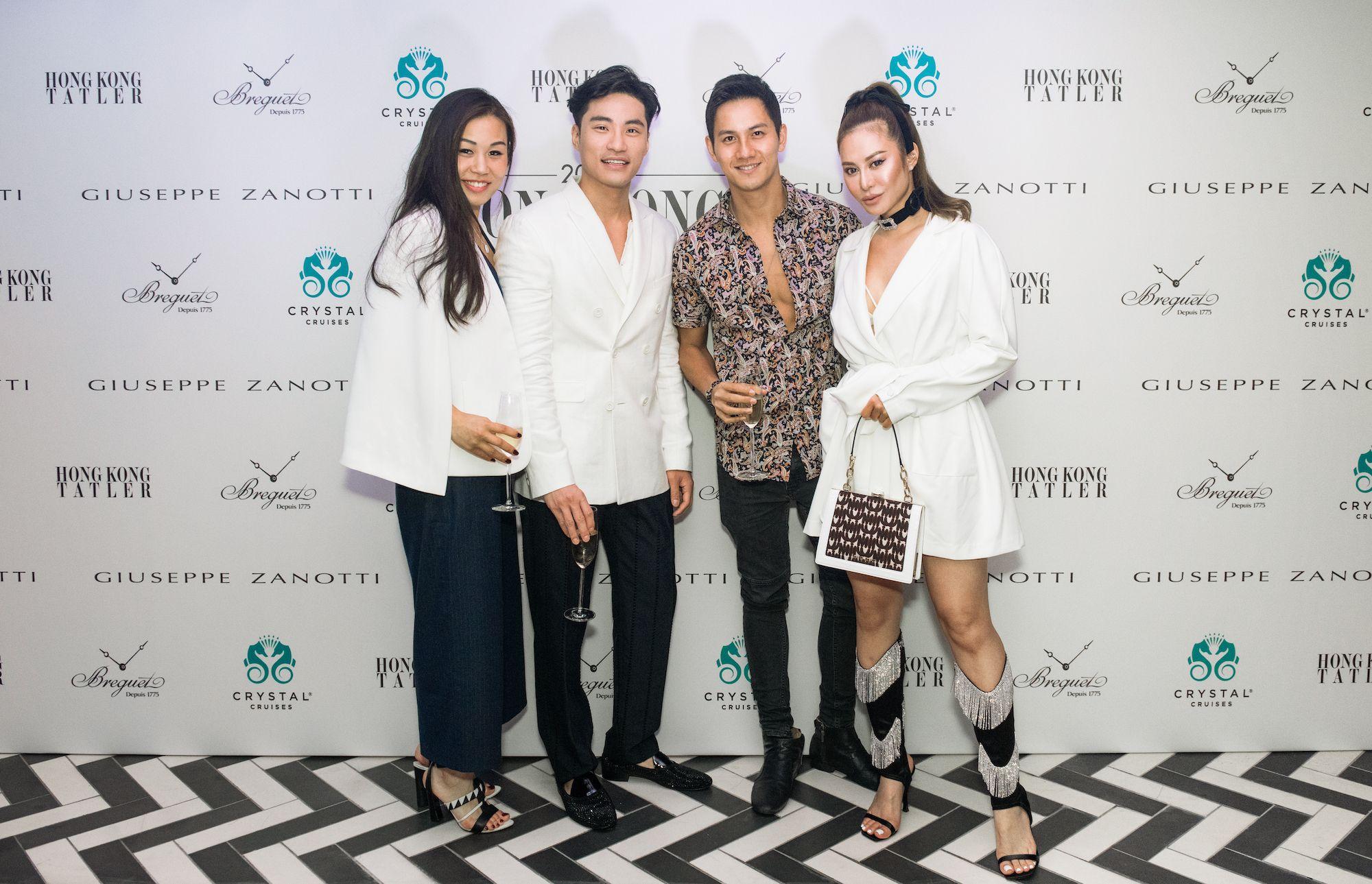 Sarah Ann Fung, Loui Lim, Vincent Wan, Eleanor Lam