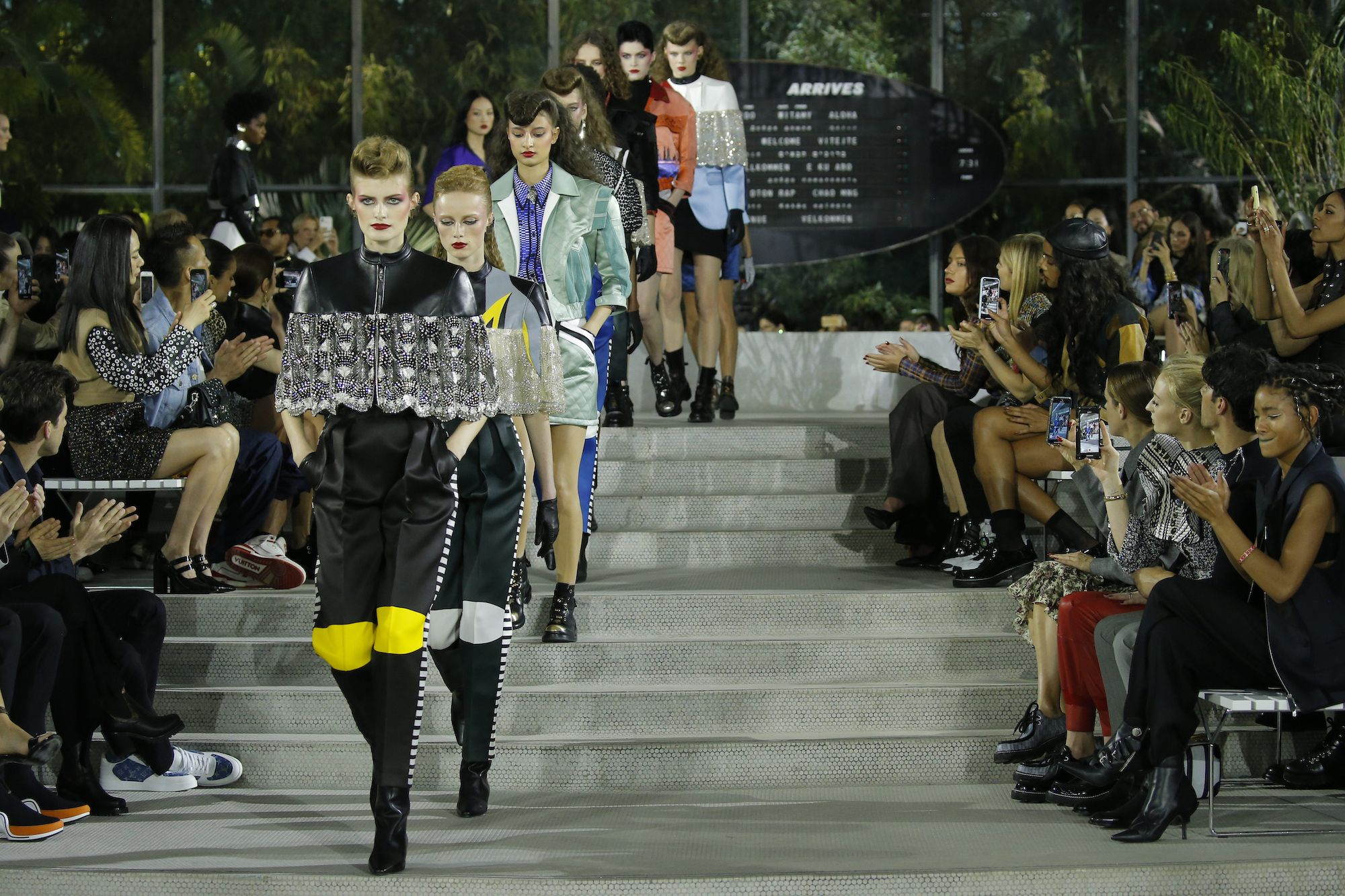 Louis Vuitton's Cruise 2020 Show Transports Guests to New Dimensions