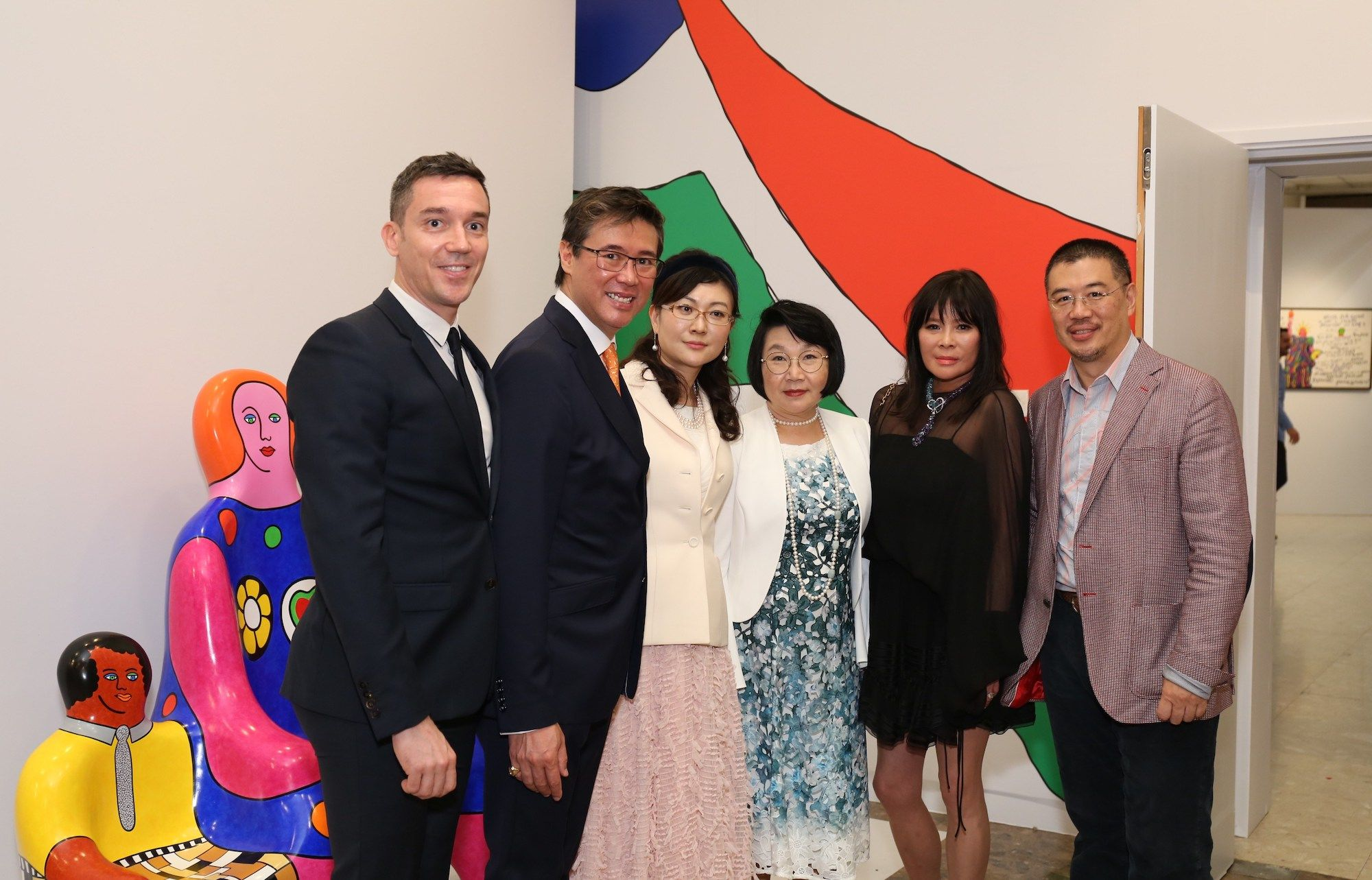 Benoit Etienne, Andrew Yuen, Miky Kambara, Janice Choi, Yvette Yung, Andrew Kinoshita