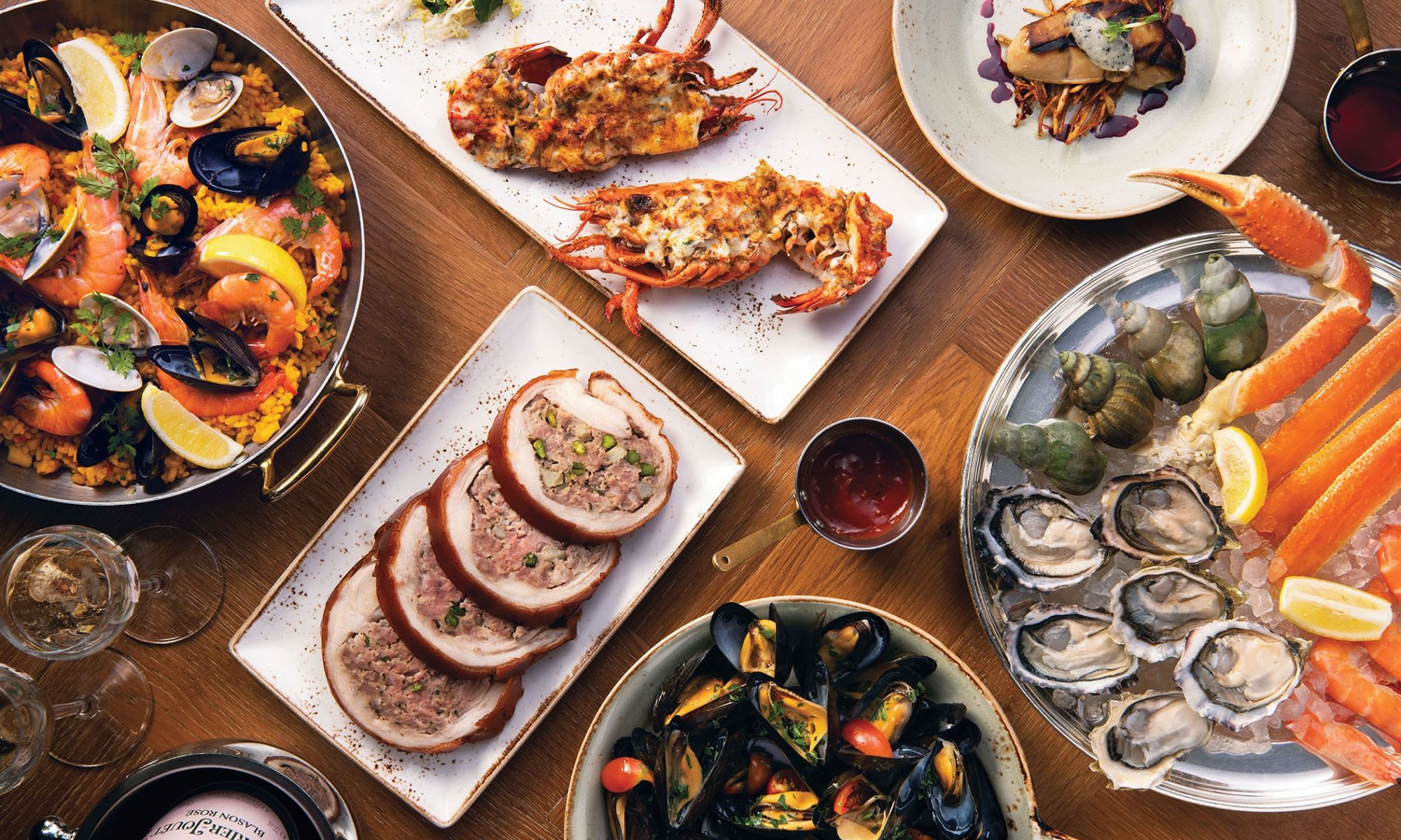 Bostonian Presents An All-New Seafood And Champagne Brunch
