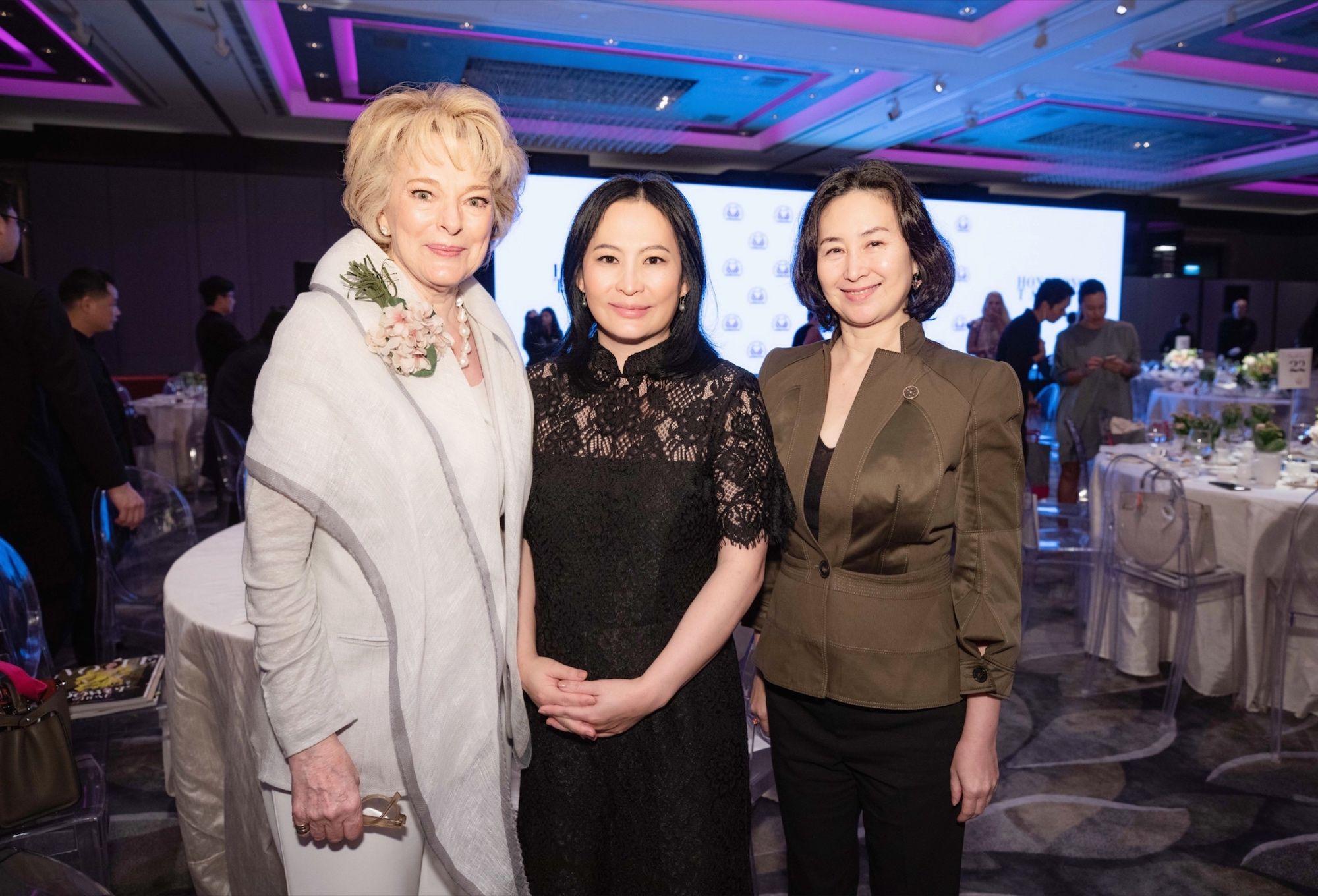 Marguerite Lee, Jo Soo-Tang, Pansy Ho
