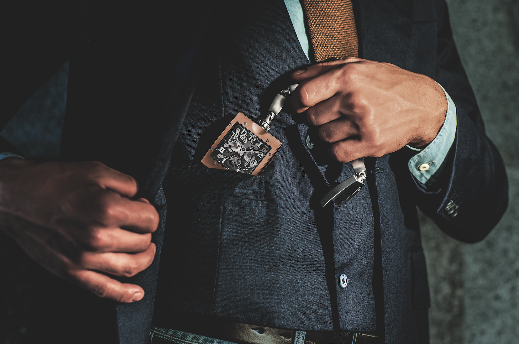 Richard Mille Reinvents The Pocket Watch
