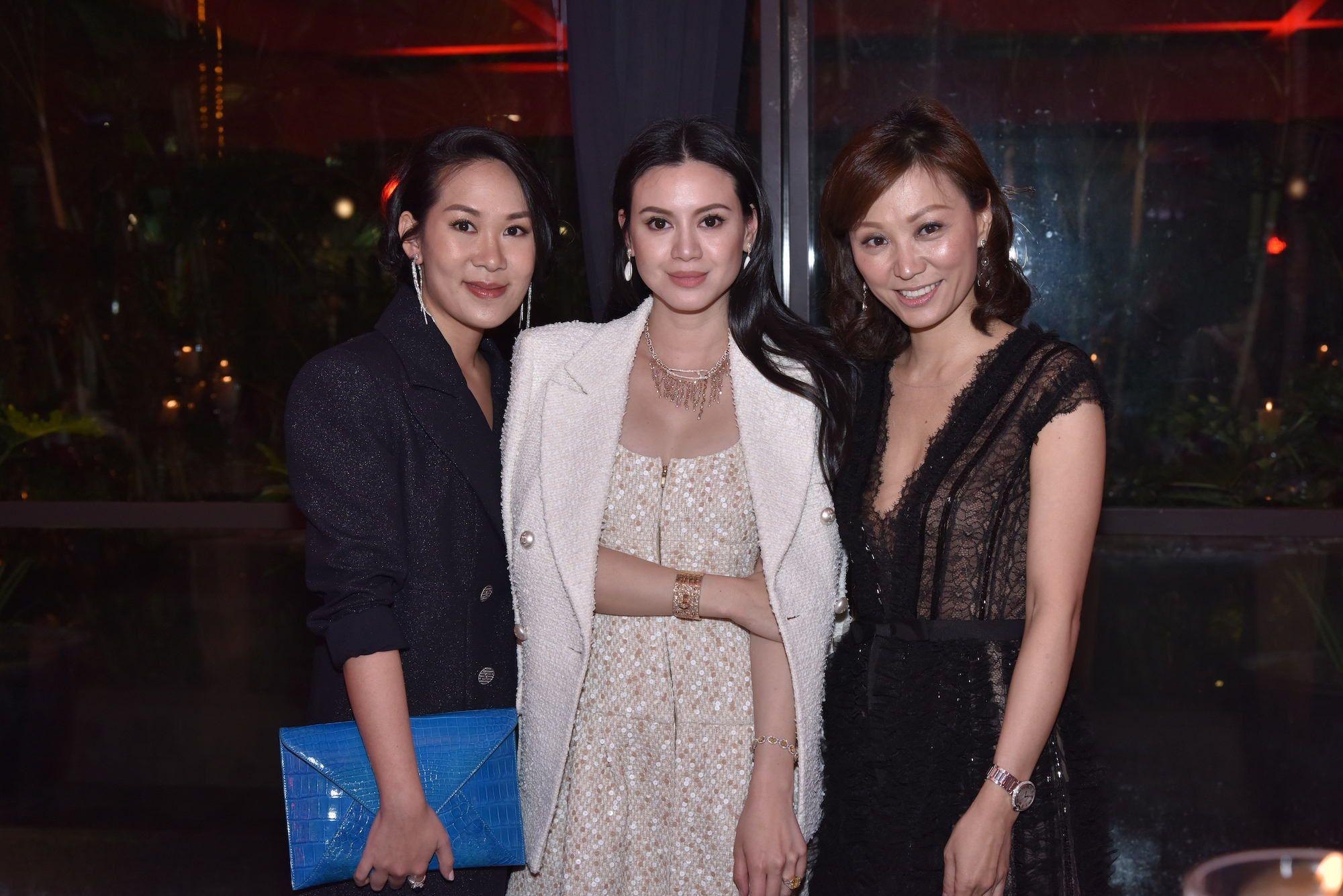 Charmaine Ho, Emily Lam-Ho, Michelle Cheng-Chan