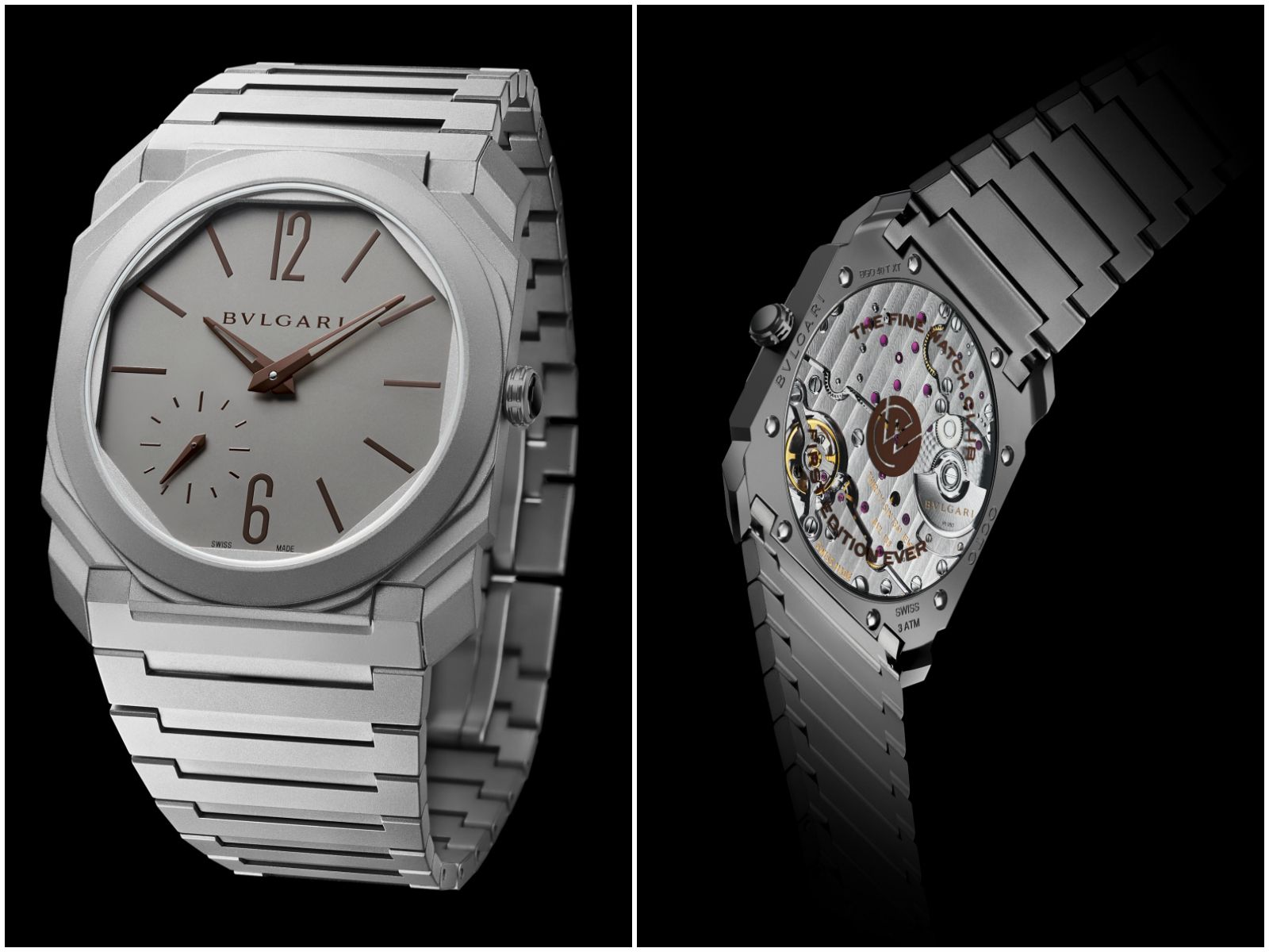 Bulgari Octo Finissimo in titanium, exclusive to the Fine Watch Club