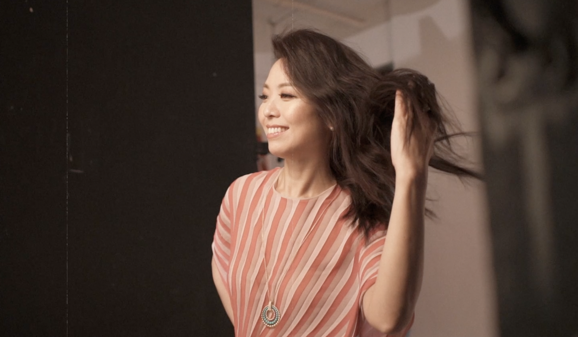 Behind The Scenes: Anne Wang-Liu Radiates Elegance And Style