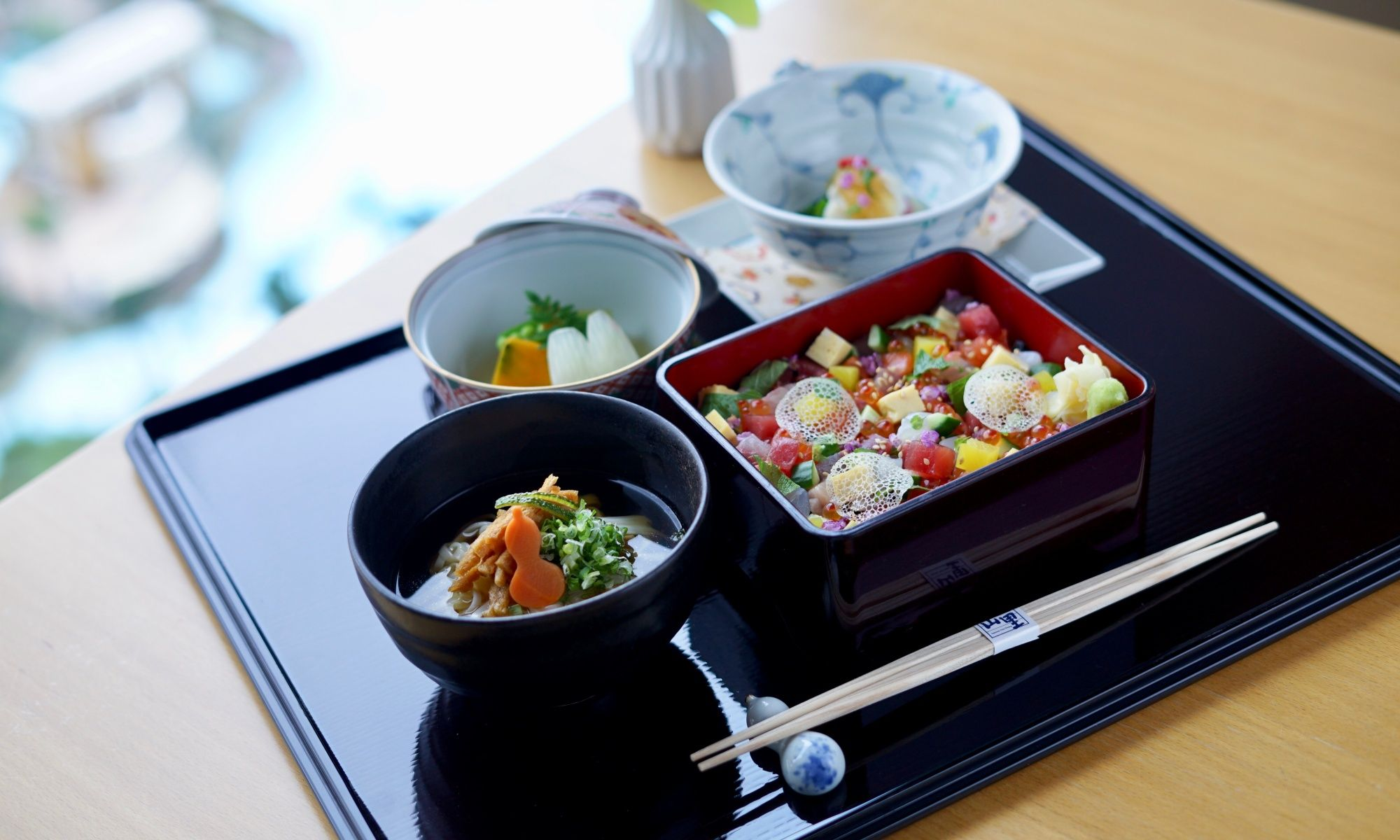 Yamazato Presents New Tanabata Gozen Lunch Menu