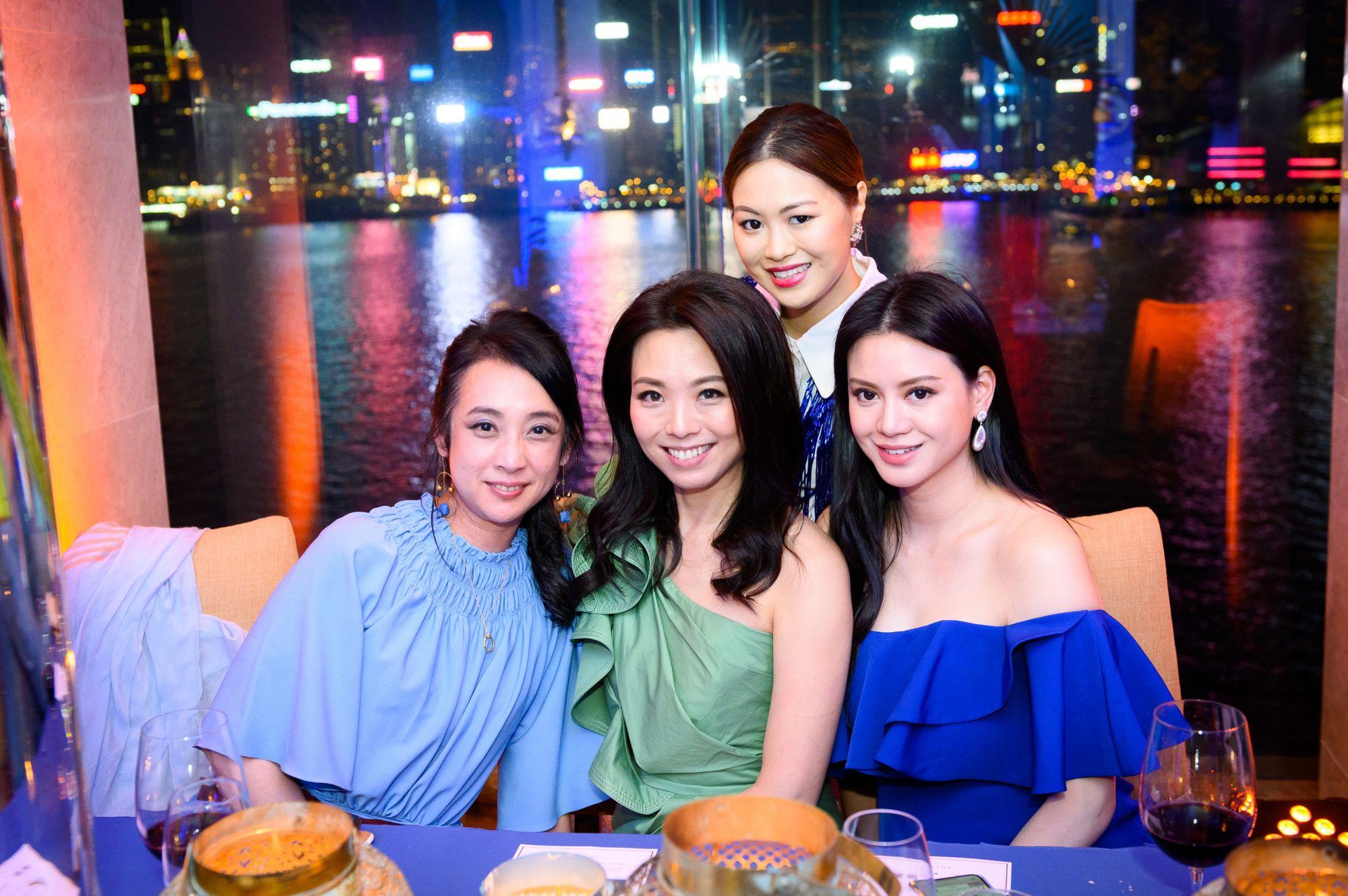 Deirdre Fu-Tcheng, Anne Wang-Liu, Michelle Kwok, Emily Lam-Ho
