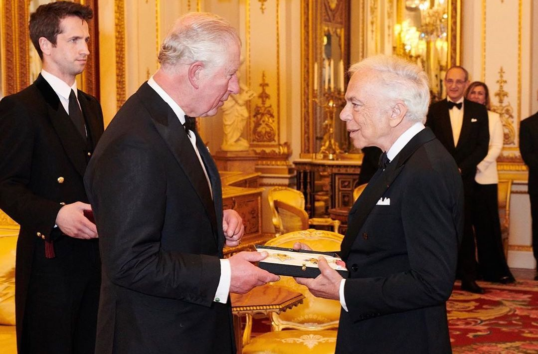 Prince Charles and Ralph Lauren