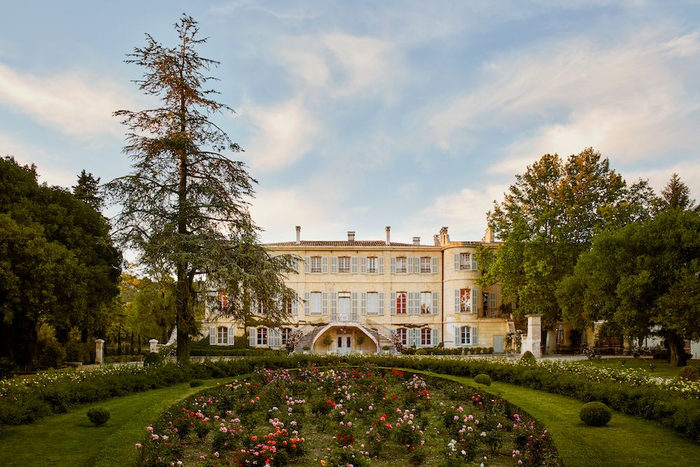 Chateau d'Estoublon is available for rental on Airbnb (photo: courtesy Airbnb)