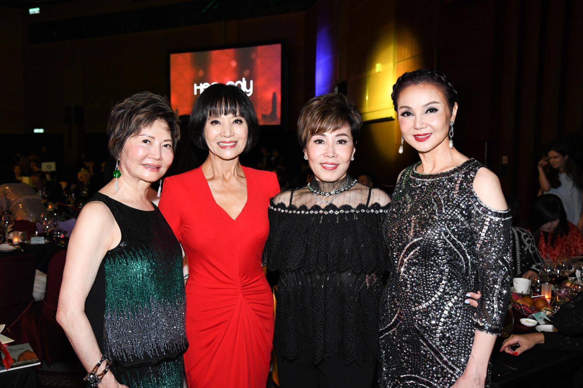 Rossana Gaw, Monica Wong, Judy Pong, Lynn Hsieh