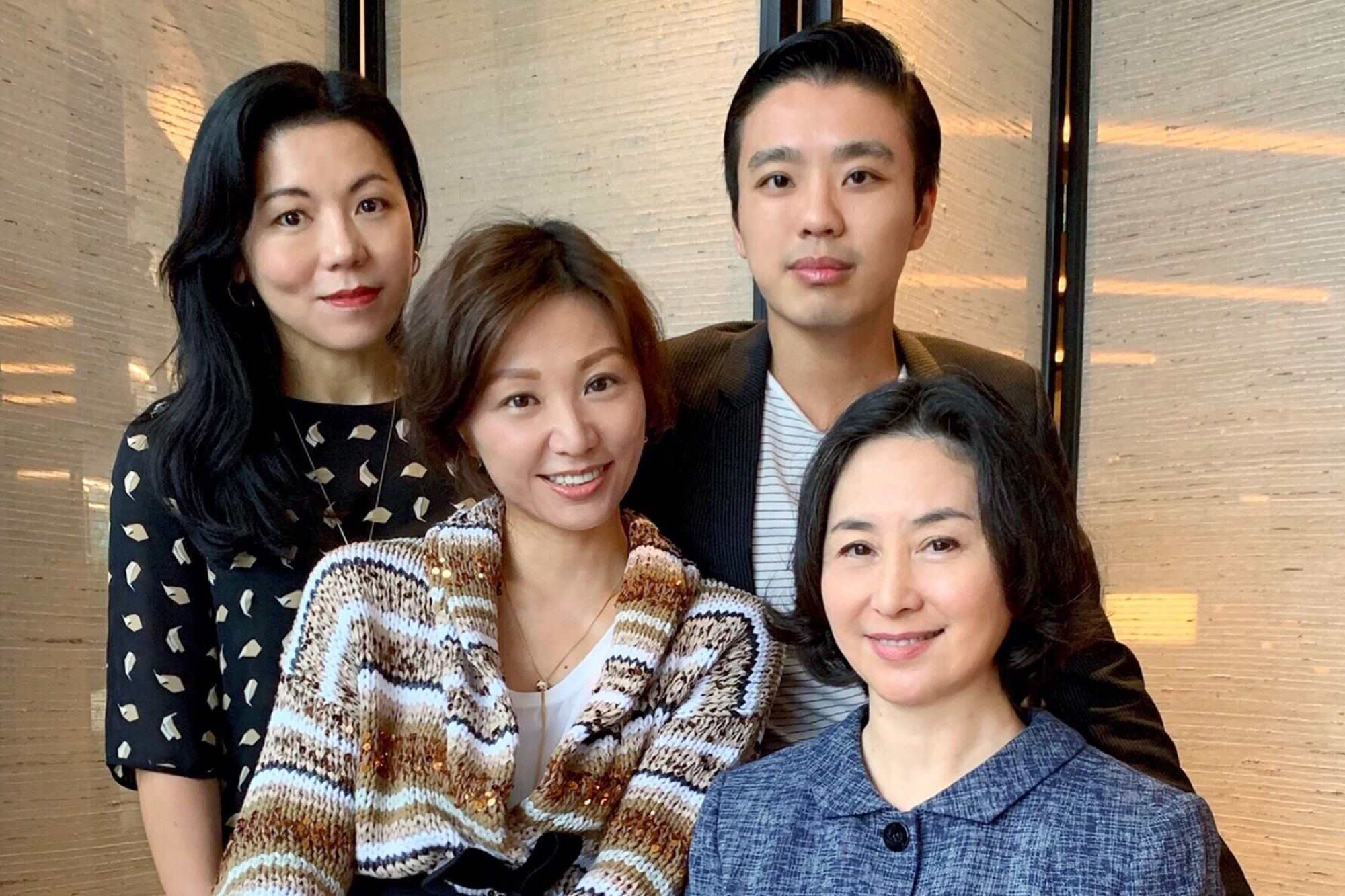 Estella Niem, Michelle Cheng-Chan, Jonathan Cheung, Pansy Ho