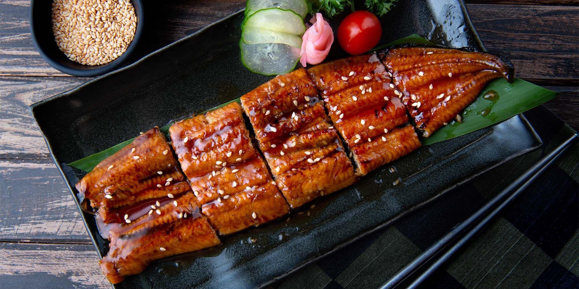 Mid-Summer Eel Delicacies At Robatayaki