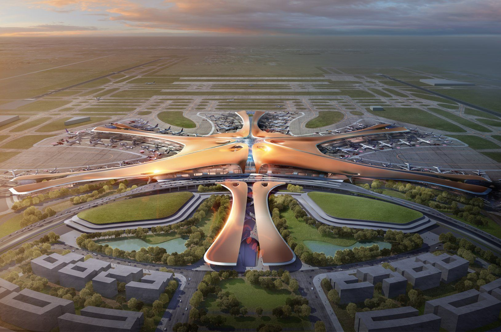 The World's Most Expensive Airport Will Open in Beijing This Year