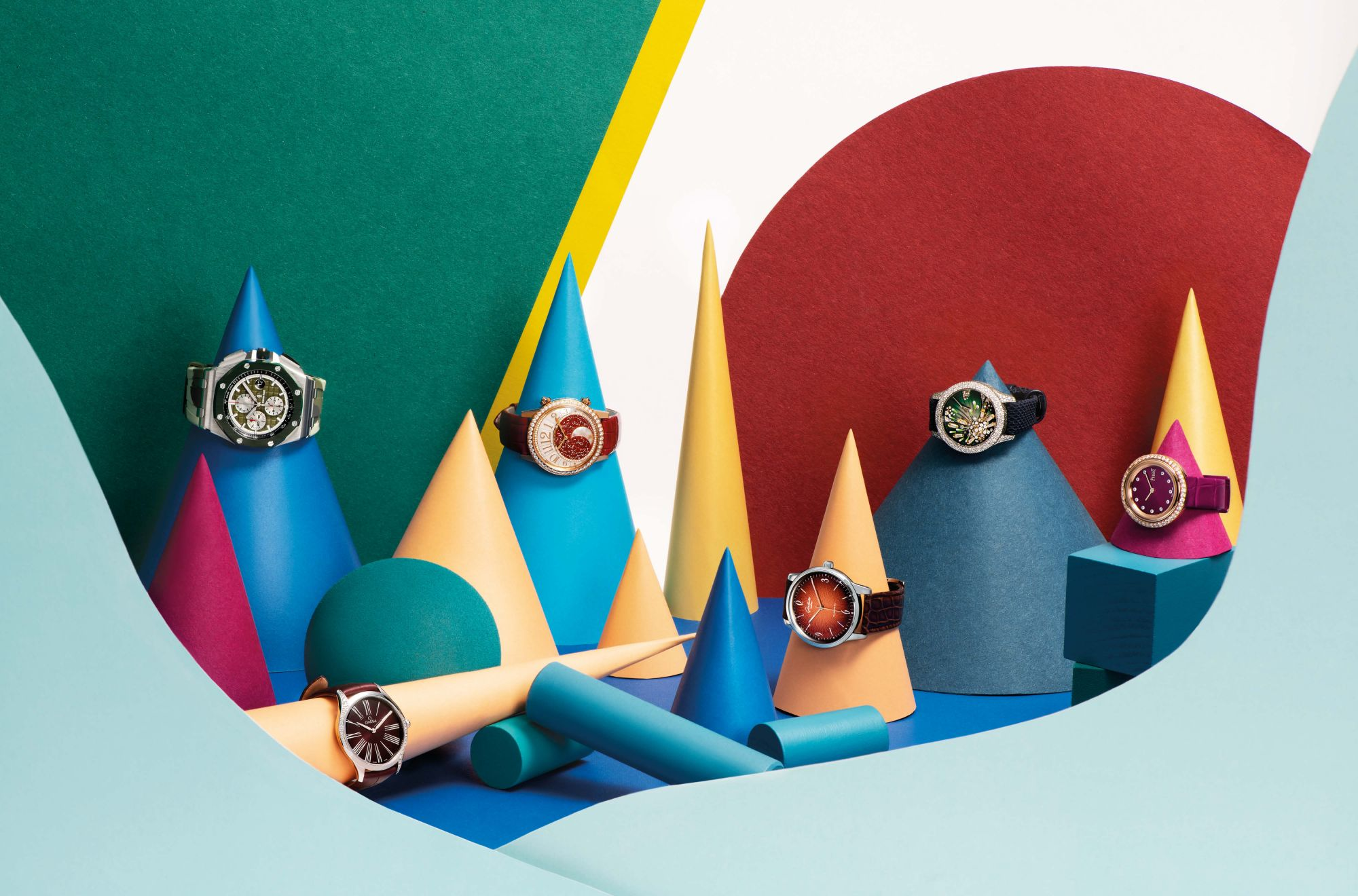 6 Colourful Luxury Watches To Brighten Up Your Summer