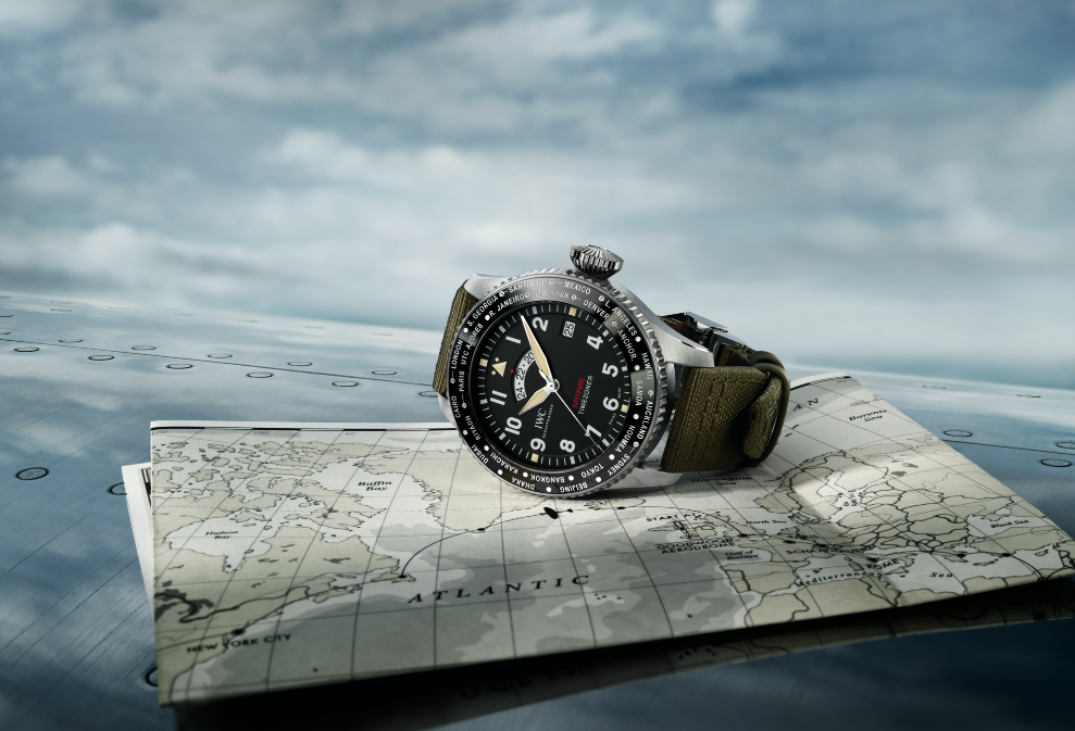The Sky's The Limit With IWC's New Spitfire Collection