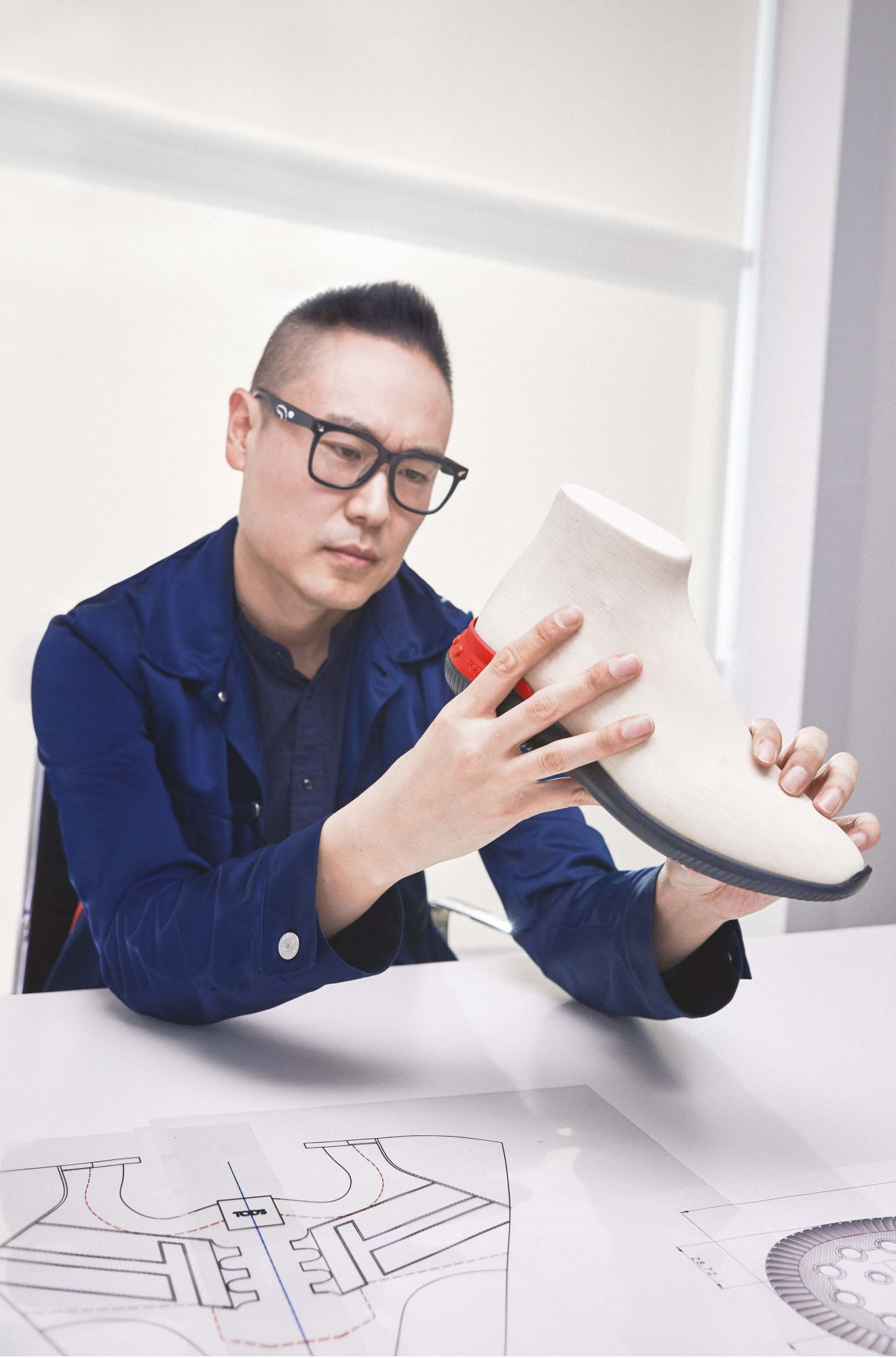 Rewriting The Rules: Yong Bae Seok On Tod's No_Code Shoeker