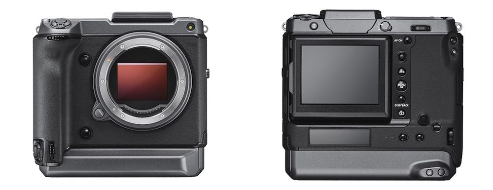 GFX 100 (photo courtesy Fujifilm)