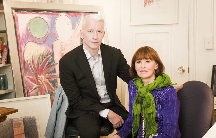 Anderson Cooper To Inherit Less Than US$1.5 Million From Mother Gloria Vanderbilt