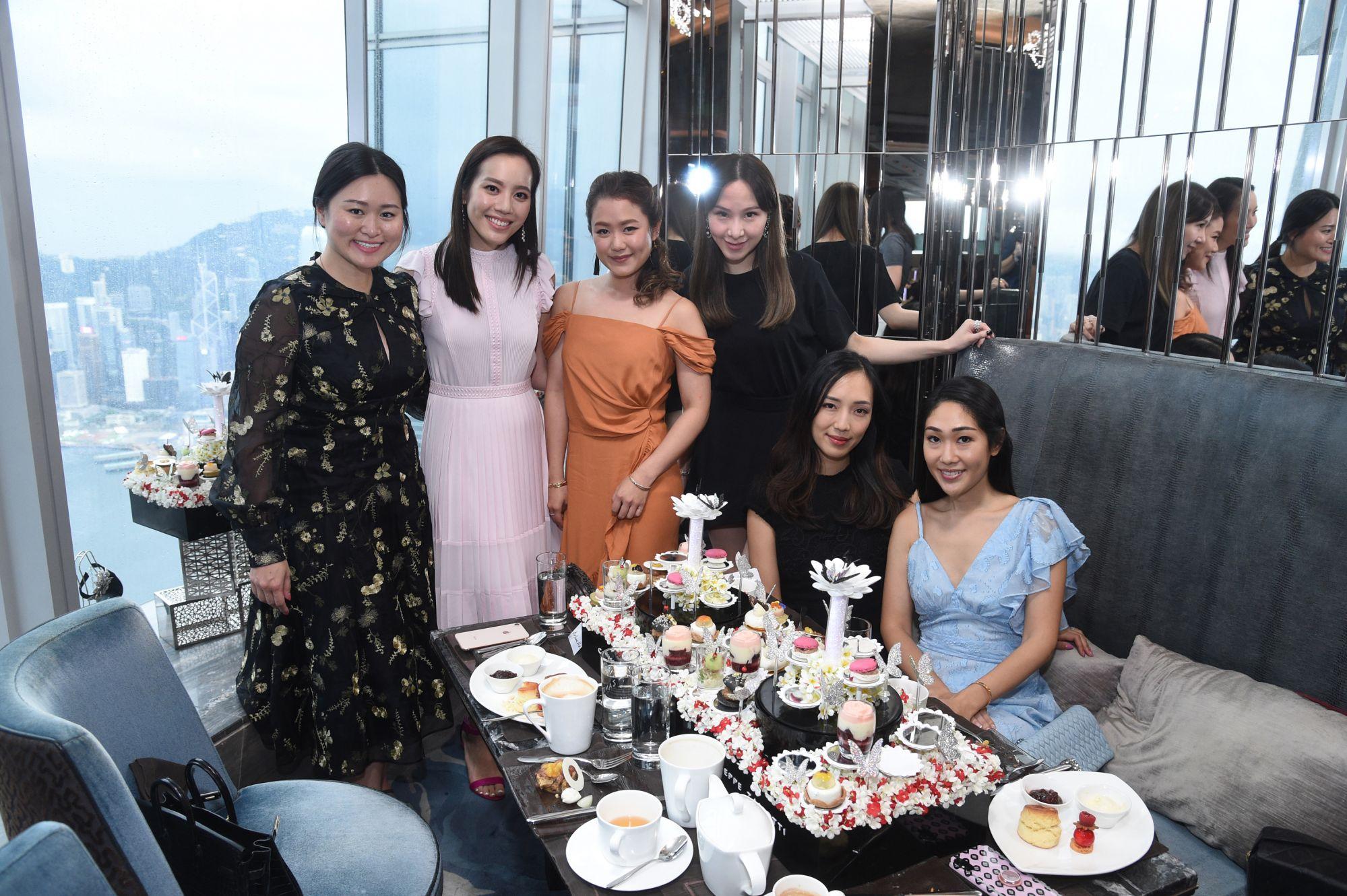 Victoria Chan, Jessica Jann, Pearl Shek, Stephnie Shek, Christine Fok, Nat Kwan