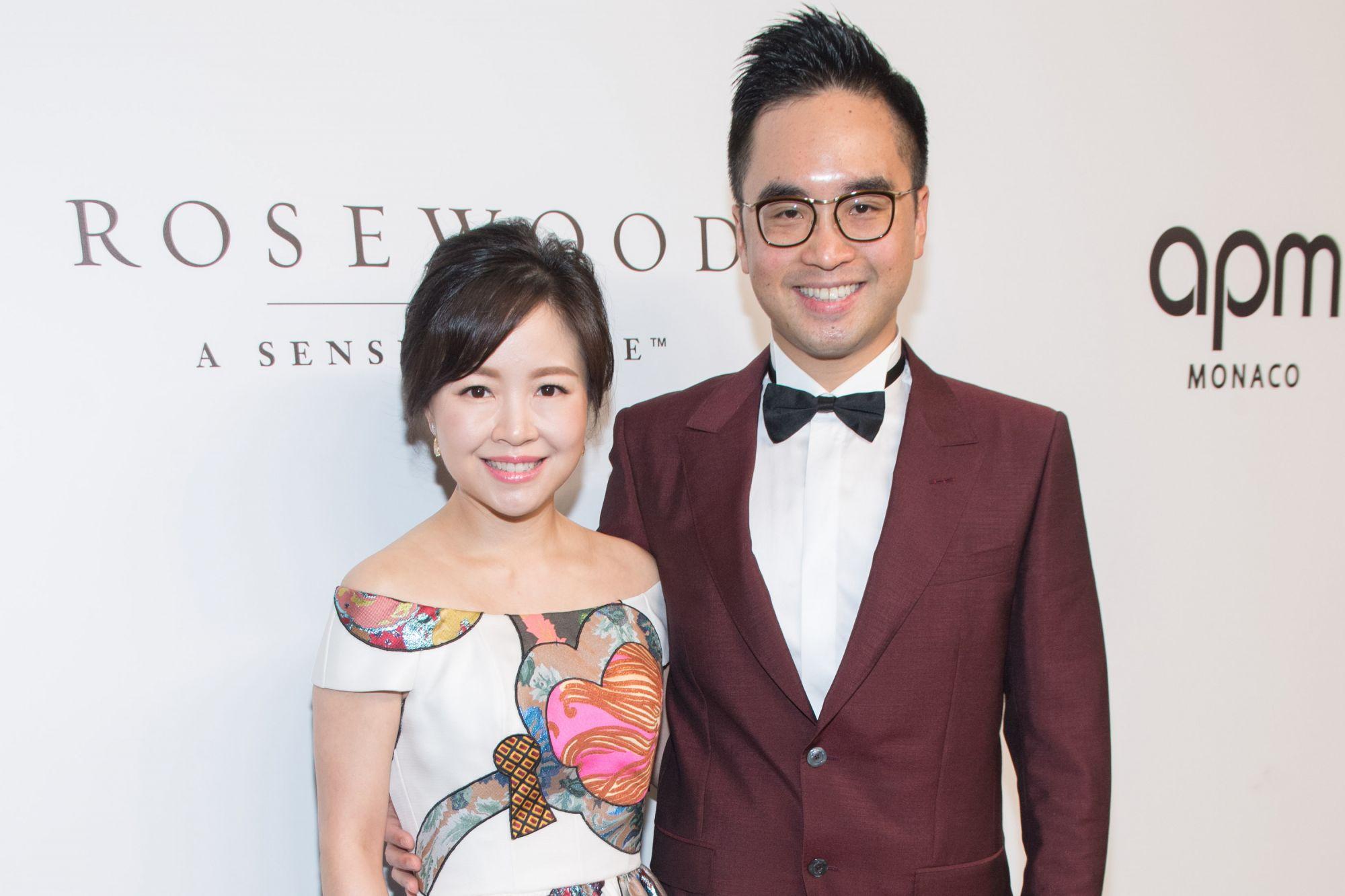 Jennifer and Adrian Cheng