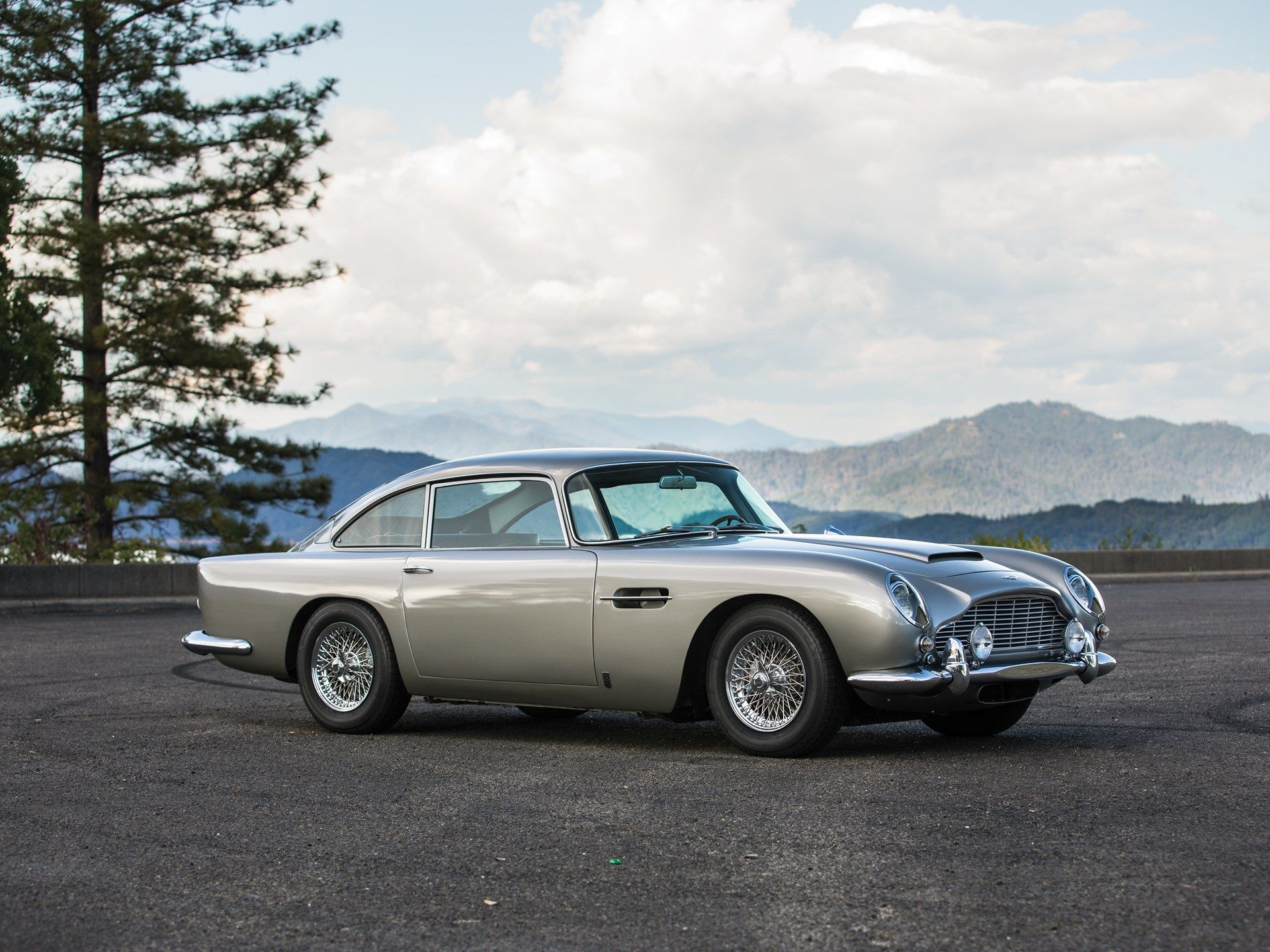 James Bond's Aston Martin DB5 Will Be Up For Auction This August