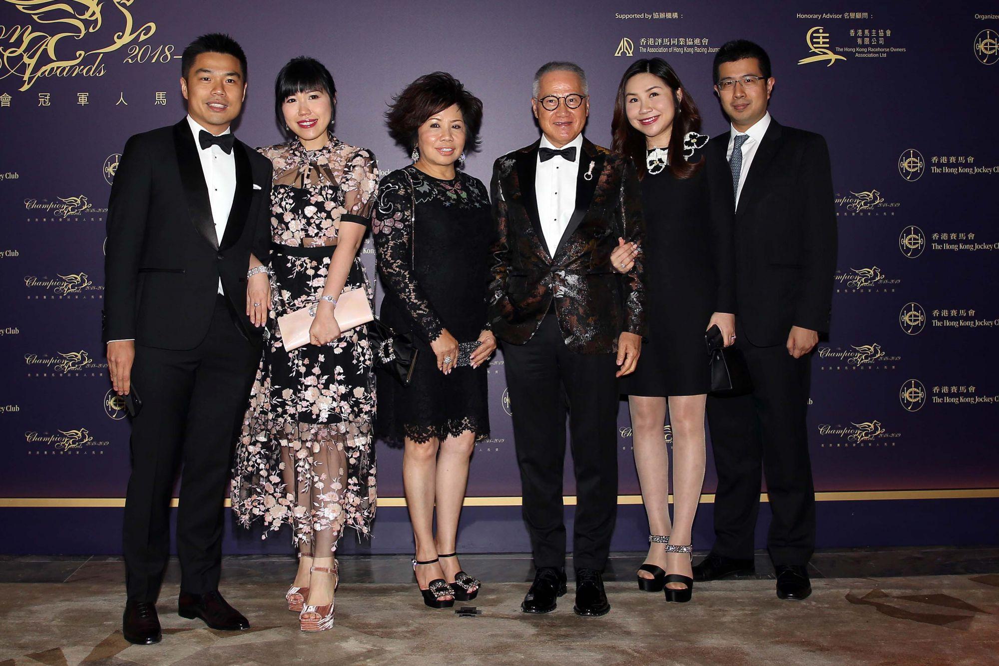 Patrick Kwok, Melody Kwok-Chan, Eleanor Kwok, Simon Kwok, Kitty Kwok-Li, Joseph Li