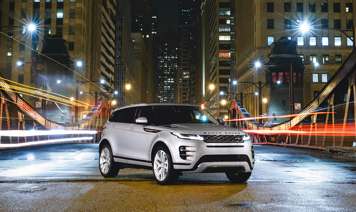 Say #HelloEvoque: Introducing Range Rover's Most Luxurious Compact Smart SUV