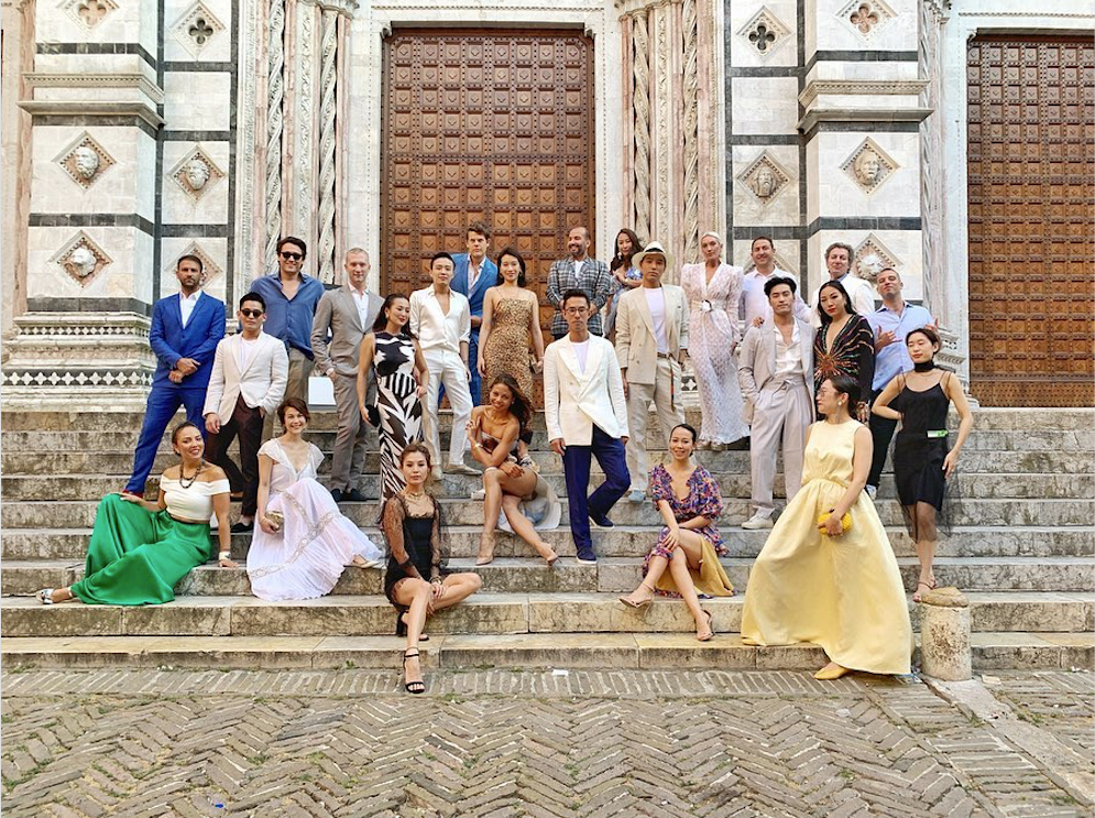 Tatlergram: Inside Edward Tang and John Auerbach's Lavish Tuscan Wedding