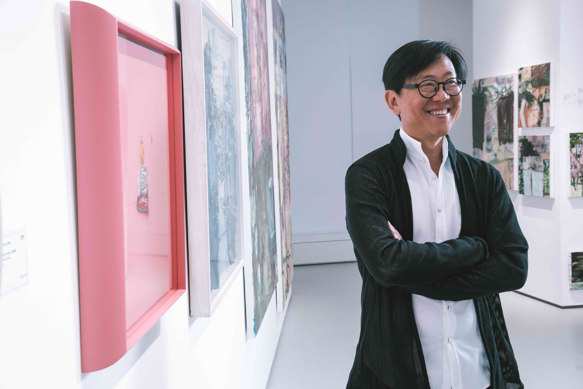 William Lim at Matter at Seoul Auction, H Queen's. (Courtesy of Seoul Auction)