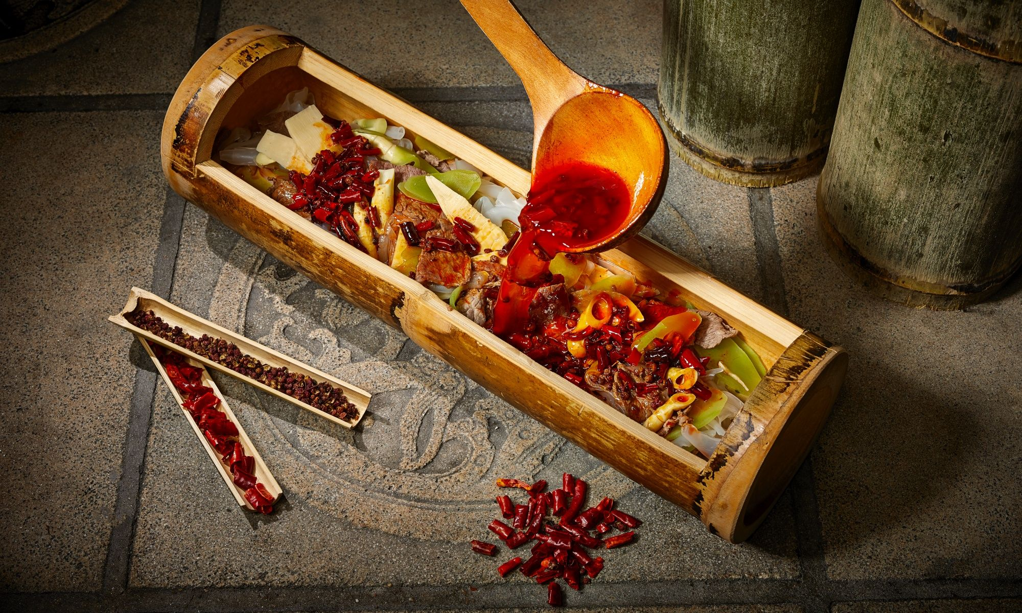 Hutong Launches New Bamboo-Themed Menu