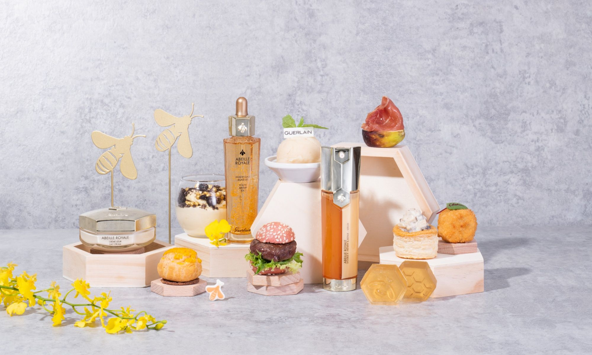 Central's Gradini Presents Bee My Honey Afternoon Tea