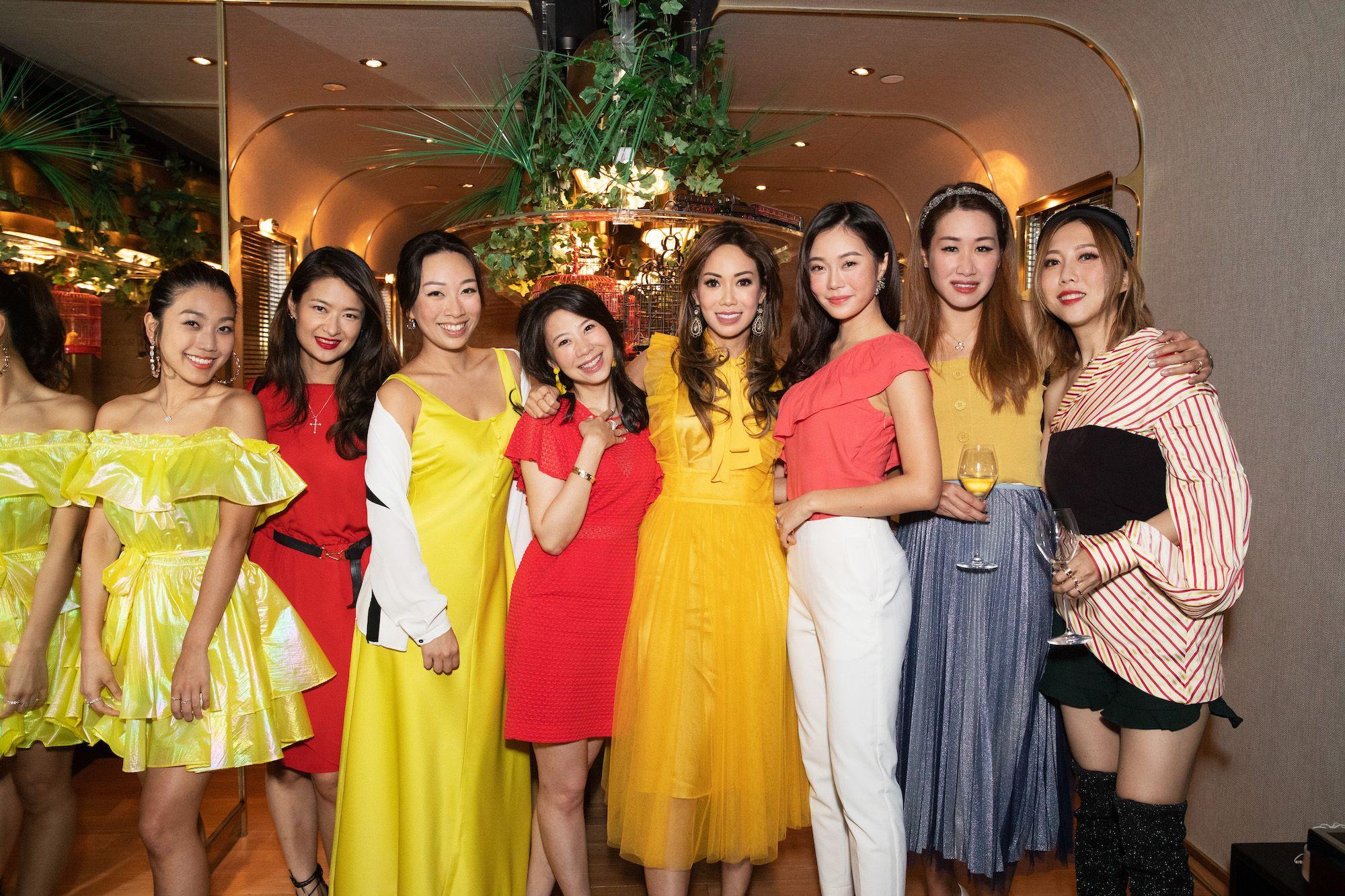 Leslie Chiang, Queenie Mak, Veronica Lam, Maya Lin, Yen Kuok, Bonnie Chan, Yijia Tiong, Faye Tsui