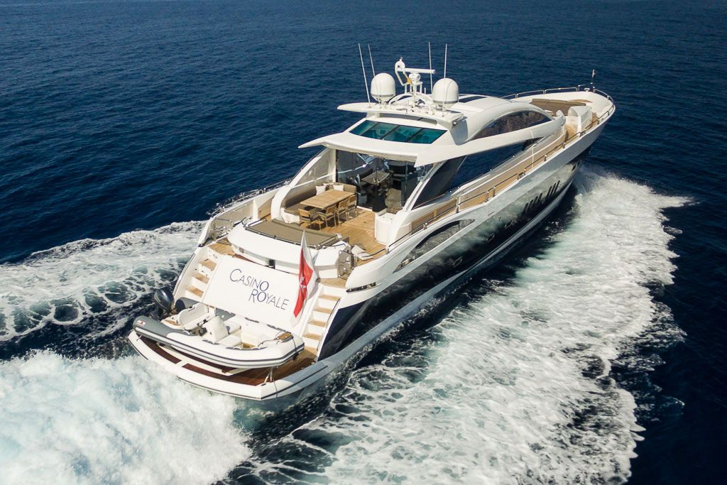 You Can Now Charter James Bond's Casino Royale Yacht