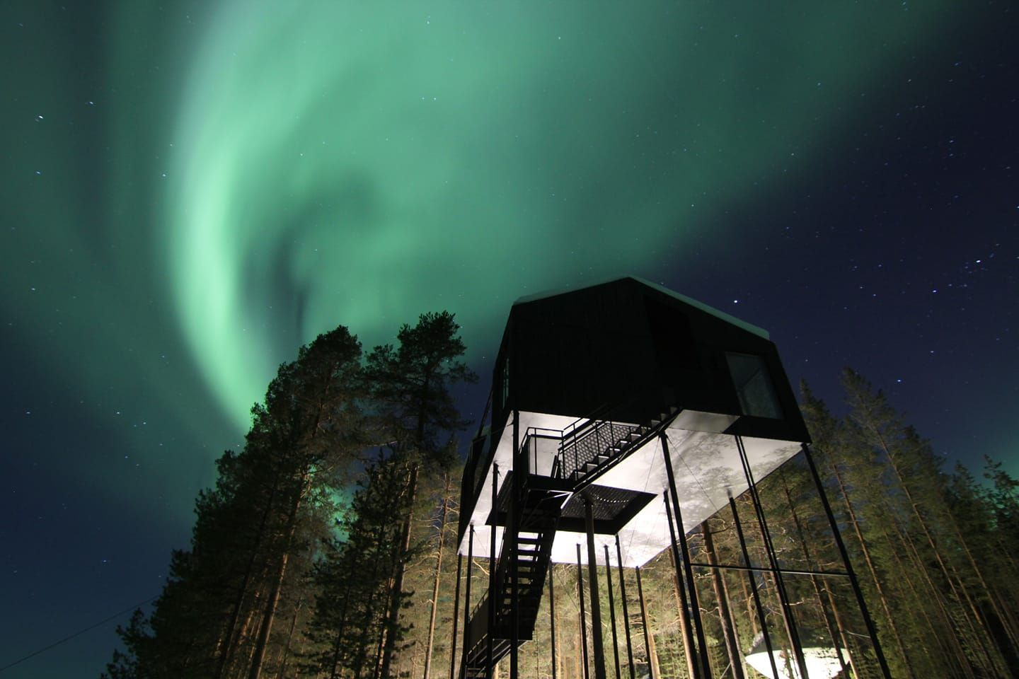 5 Scandinavian Hotels To Stay And See The Northern Lights From