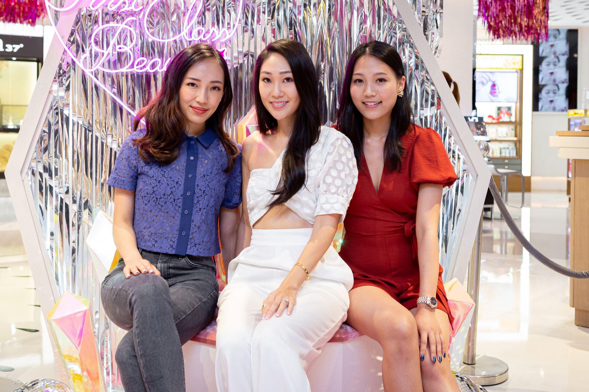 Christine Fok, Nat Kwan, Caroline Fok
