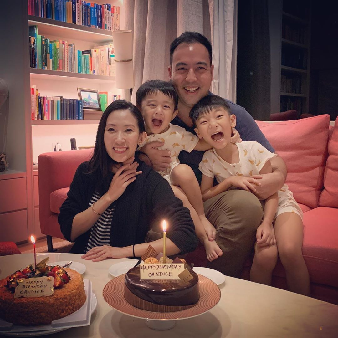 10 Best Tatlergrams: Leonard Chao Celebrates Wife Candice Chan's Birthday With Their Beloved Kids